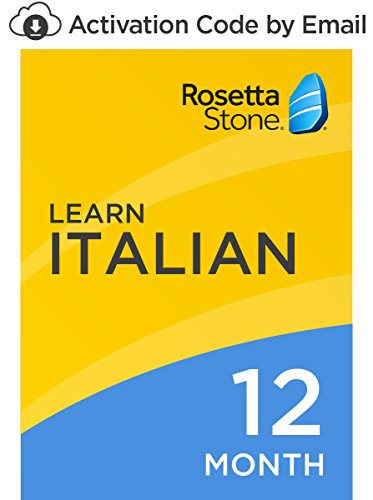 Software : Rosetta Stone: Learn Italian for 12 months on iOS, Android, PC, and Mac [Activation Code by Email]