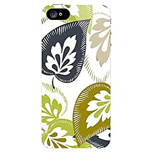 Jia Feather Design Front and Back Sticker for iPhone 5