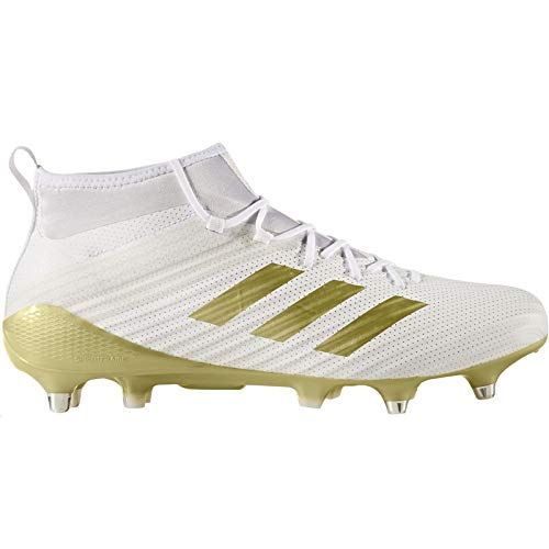 adidas Performance Mens Predator Flare Soft Ground Sock Rugby Boots - White 9