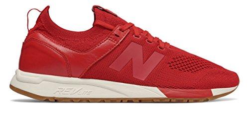 簡単に精通したアウトドア(ニューバランス) New Balance 靴?シューズ メンズライフスタイル 247 Decon Red レッド US 13 (31cm)