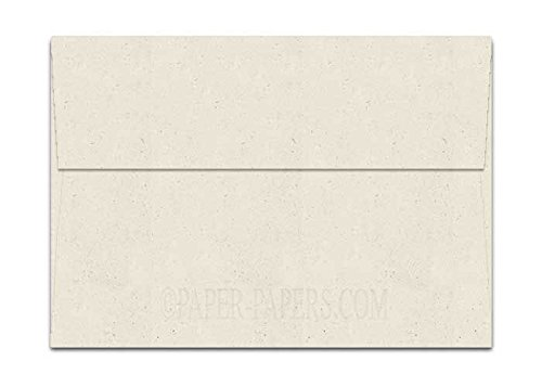 - Madero Beach Speckle Fiber A7 (5-1/4-x-7-1/4) Envelopes 50-pk - 104 GSM (28/70lb Text) PaperPapers 5X7 Invitation, Card and DIY Greeting Envelopes