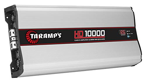 Taramp's HD 10000 2 Ohms Class D Full Range Mono Amplifier