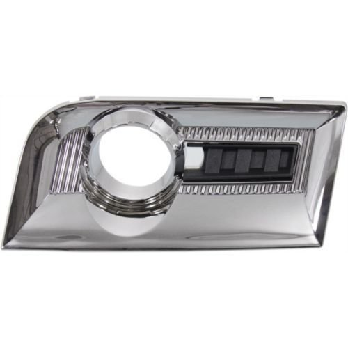 Chrome Front Bezel - DAT 2010 - 2015 GMC TERRAIN EXCEPT DENALI RIGHT PASSENGER SIDE CHROME FRONT FOG LIGHT BEZEL GM1039123