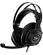 HyperX Cloud Revolver - Gaming Headset with HyperX 7.1 Surround Sound, Signature Memory Foam, Premium Leatherette, Steel Frame, Detachable Noise-Cancellation Microphone