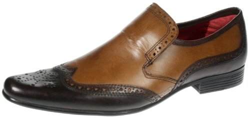 Red Tape - Zapatos de cordones para hombre marrón marrón marrón - marrón