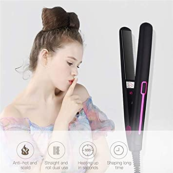 Buy Chami 2 In 1 Professional Constant Temperature Hair Straightener Curler Curling Styling Tools Fast Planchas Straight Hair Flat Iron Online At Low Prices In India Amazon In