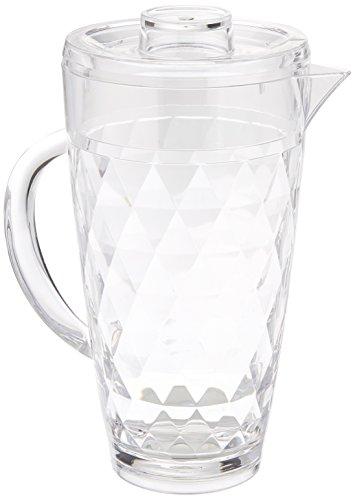 Prodyne Acrylic Diamond-Cut 70 oz. Pitcher with Lid ()