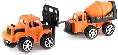Dazzling Toys Set of Construction Cement and Bulk Truck | Great for Indoor and Outdoor Play / Dazzling Toys Set of Construction Cement and Bulk Truck | Great for Indoor and Outdoor Play