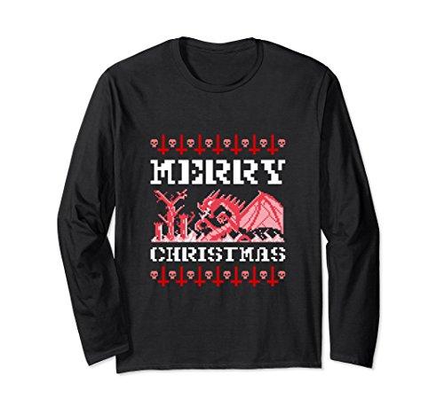 Unisex Merry Christmas Dragon Shirt