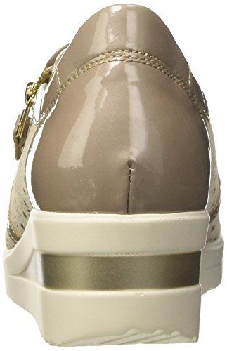 Misca para Mujer Walk Misca Melluso Zapatillas Donna Beige xv4FH47Zn