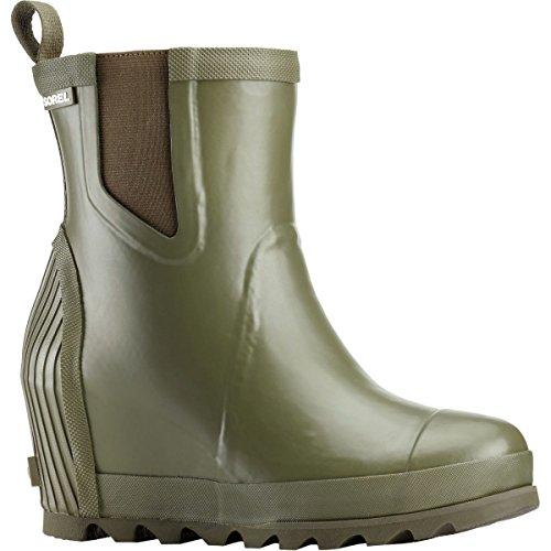 Boot Sorel Chelsea Salt Rain Nori Women's Joan Sea Rain Wedge IxHxYwZ