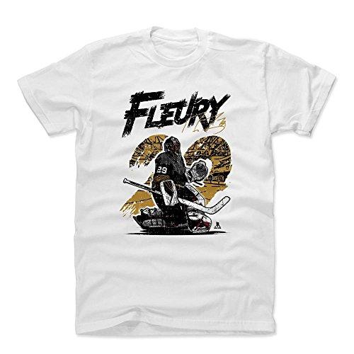 Hockey Crewneck (500 LEVEL Marc-Andre Fleury Cotton Shirt XX-Large White - Vegas Hockey Fan Apparel - Marc-Andre Fleury Comic D)