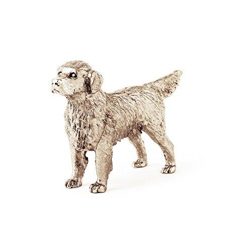 Golden Retriever Made in UK Artistic Style Dog Figurine (Golden Retriever Dog Figurine)