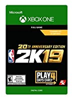 NBA 2K19: 20th Anniversary Edition - Xbox One [Digital Code]