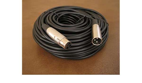 2 lot 100ft xlr male to female 3 pin MIC Shielded Cable audio Microphone Pack