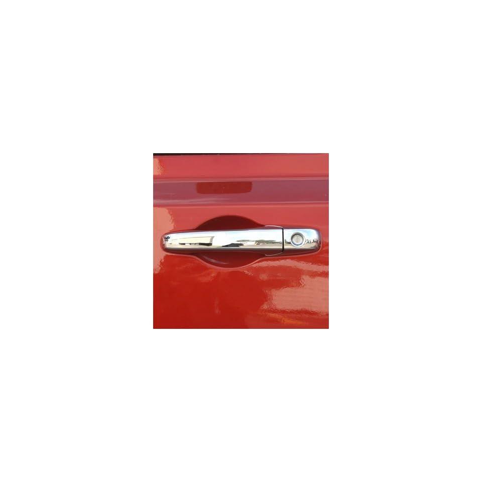 2007, 2008, 2009, 2010 Dodge Journey 4 Door Chrome Door Handle Cover Kit (No Passenger Keyhole)