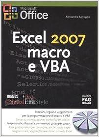 Excel 2007 macro e VBA