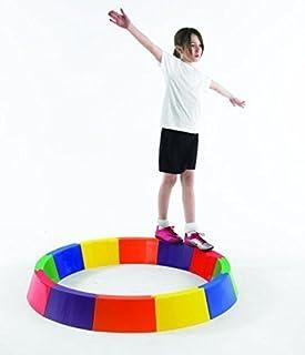 Sports Gym pour Piscine Jardin amusant jeu d'équilibre Beams-courbée OSG