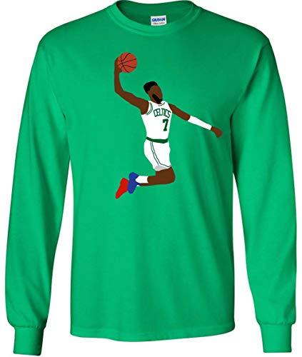 Long Sleeve Green Boston Jaylen Pic The Dunk T-Shirt Adult (Green Gordon Pic)
