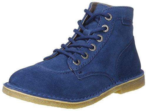 Kickers Orilegend - Botas plisadas Mujer Bleu (Bleu Petrole)