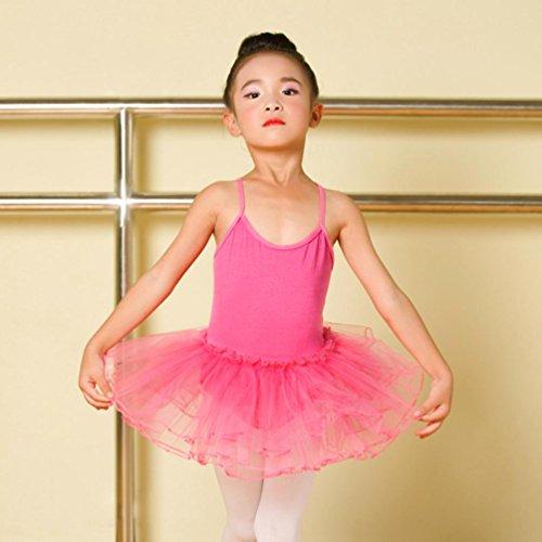 Trikot Praxis Adeshop Sommer Siamese M dchen Kind Rundhals Modisch Ballettkleid Anzug Tutu Casual Sling Tanz Rock Kost Niedlich dxoCeB