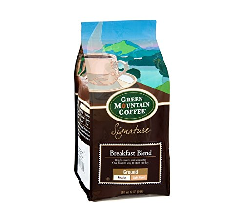 Green Mountain Coffee Roasters Signature Coffee Breakfast Blend Ground - 6 Pack -