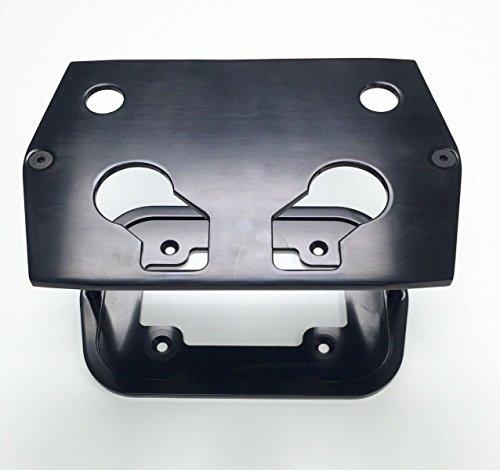 Smooth Black Billet Aluminum Optima Battery Tray - Chevy/Ford/Mopar Billet Battery Tray