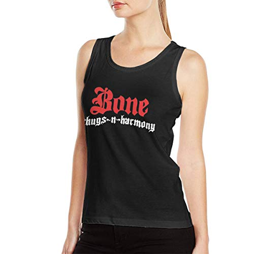 Bone Thugs N Harmony Women Sexy Tank Casual Style Vest Customized L Black