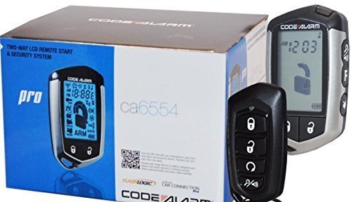 Code Alarm CA6554 Car Remote Start Security System Keyless Entry 2 Way LCD