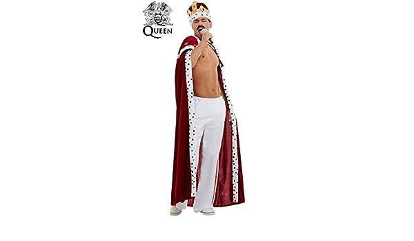 Disfraz de Queen Deluxe para Hombre: Amazon.es: Juguetes y juegos