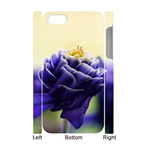 For Samsung Galaxy S6 Case Cover Flowers 3D Art Print Design Phone Back Case Personalized Hard Shell Protection FG098433
