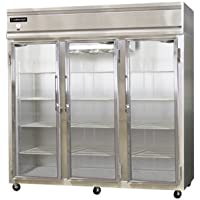 Continental Designer Line Refrigerator Three-Section 3R-GD