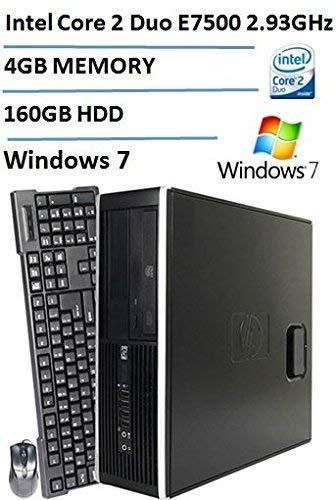 専門ショップ HP 6000 Pro Small Form Factor Desktop Intel DDR3 Core (Certified 7 2 Duo E7500 2.93GHz Processor 160GB HDD 4GB DDR3 RAM DVD-ROM Gigabit Ethernet Windows 7 Professional (Certified Refurbished) [並行輸入品] B07HRMV996, 三橋町:24c47baa --- arbimovel.dominiotemporario.com