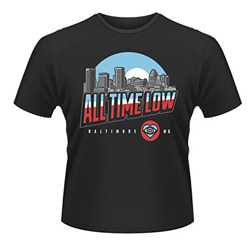 Low shirt Noir Head Time Baltimore All Plastic T Homme aqOwHO
