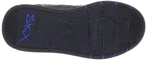 Skechers EndorseAsher 91848L CCBK - Zapatillas de cuero para niño Gris