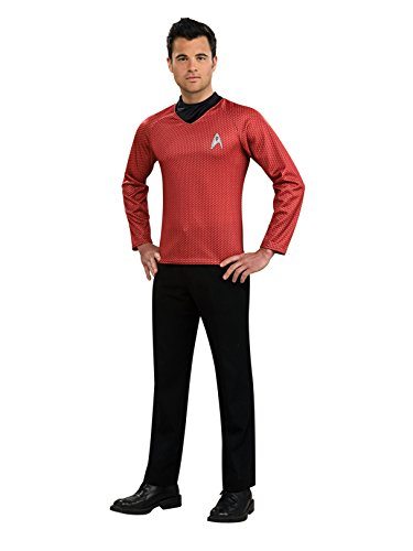 Rubie's Star Trek Into Darkness Scotty Shirt With Emblem, Red, X-Large Costume