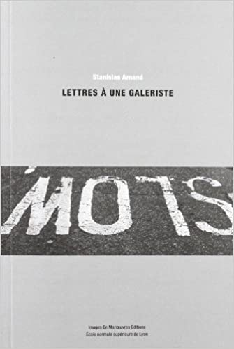 Read Lettres à une galeriste pdf