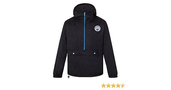 Manchester City FC - Chaqueta Cortavientos Oficial - para Hombre ...