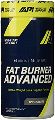 API USA Advanced Fat Burner, 120 Count
