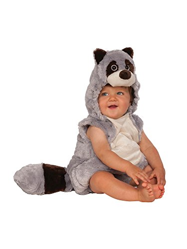 Rubie's Baby Raccoon Costume, As Shown, Toddler