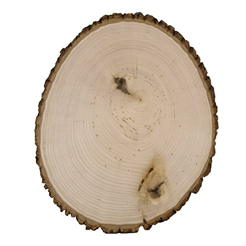 Walnut Hollow Bulk Value Pack Basswood Country Round, Large for Home Décor and Rustic Weddings, Large Large by Walnut Hollow (Image #1)