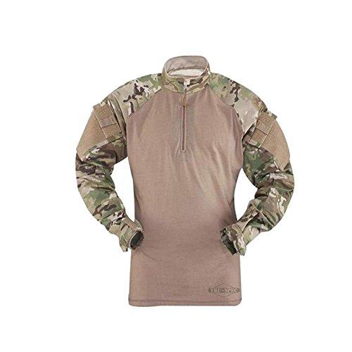 Tru-Spec Tru Long Sleeve 1/4 Zip Combat Shirt Multicam Ri...