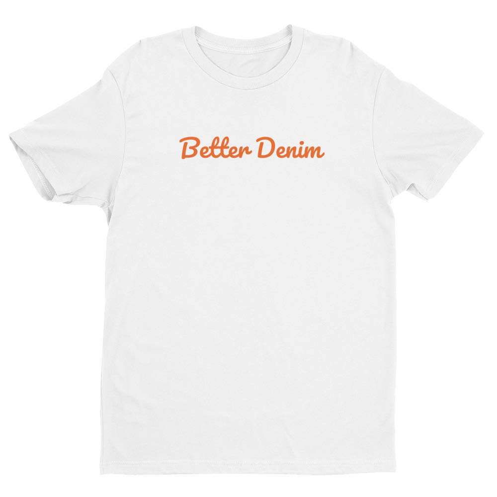 Better Denim Fitted Short Sleeve Tee