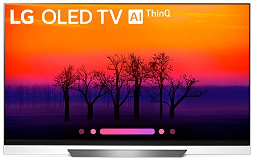 LG Electronics OLED65E8PUA 65-Inch 4K Ultra HD Smart OLED TV (2018 Model) (Certified Refurbished)