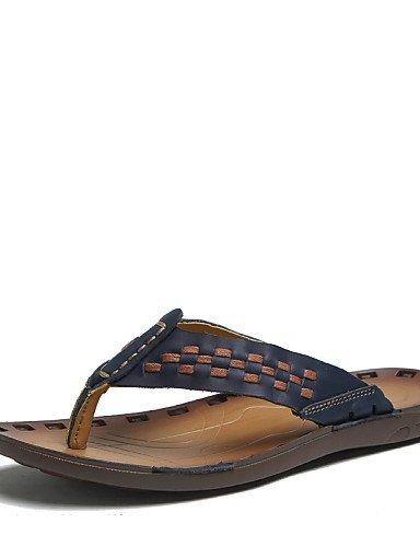 NTX/Herren Schuhe Outdoor/Casual Nappa Leder Sandalen blau/braun/orange brown us6 6.5 / eu38 / uk5 5.5 / cn38