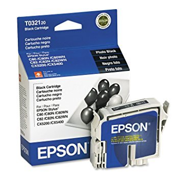 (Epson Brand Stylus C80 Standard Yield Black Ink - T032120)