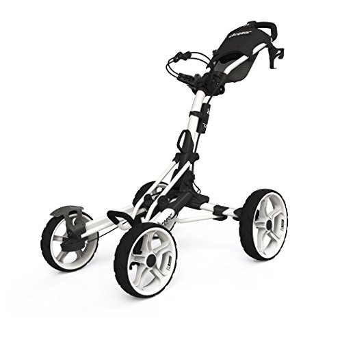 Golf Push Pull Carts - Clicgear Model 8.0 Golf Push Cart - White