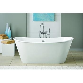 Cheviot Products Inc. 2155 WC Customized Iris Cast Iron Bathtub U0026 Skirted  Bathtub,