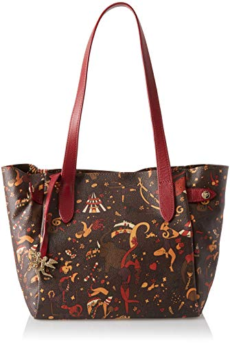 Sac fourre-tout Piero Guidi, sac à main pour femme, 27x24x16 cm (w X H L) Marron (t.moro)