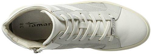 A Comb Alto Collo Tamaris Sneaker 25224 white Bianco Donna Eq8wpaw